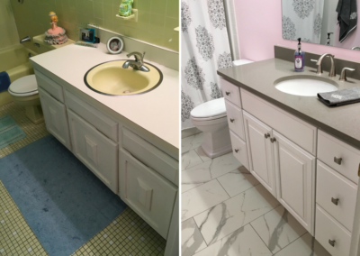 BATHROOM REMODEL IN MANCHESTER CT